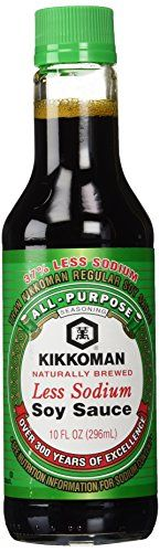 Kikkoman Soy Sauce Less Sodium 10-oz Kikkoman International Inc. http://www.amazon.com/dp/B0005YVWBM/ref=cm_sw_r_pi_dp_Bwozwb188WAKE