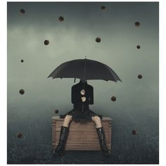 Unique Example Of Conceptual Surreal Art Bloggs74 ❤ liked on Polyvore featuring home, home decor and wall art