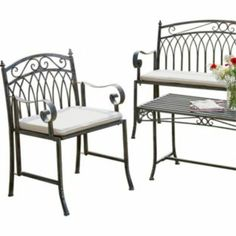 Versailles Garden Armchair Grey At Argos Co Uk Your Online For Chairs And Loungers