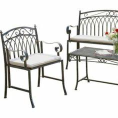 Buy Versailles Garden Armchair - Grey at Argos.co.uk - Your Online Shop  sc 1 st  Pinterest & 35 best quirky garden furniture images on Pinterest | Garden ...