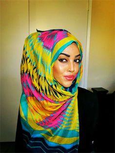 MashaAllah! Love this hijab!