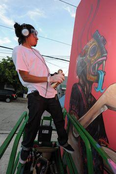 #Saner Street Artist #Mexico