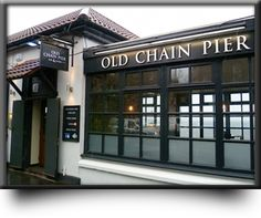 Pubs with a view, Edinburgh - The Old Chain Pier at Newhaven.  Pub and Restaurant with views over the River Forth.