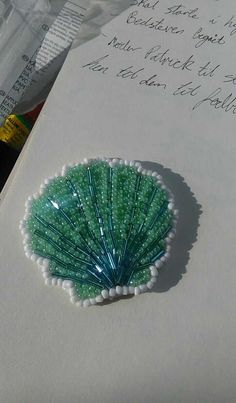 Shell bead work More