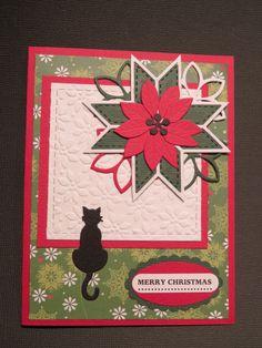 Stampin' Up Christmas card