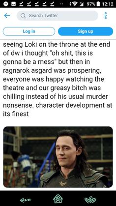 """Usual murder nonsense"" what a mood Marvel Films, Loki Thor, Loki Laufeyson, Tom Hiddleston Loki, Marvel Fan, Marvel Avengers, Dc Memes, Marvel Memes, Superhero Movies"