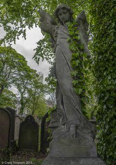 Jesmond Old Cemetery, Newcastle upon Tyne, England. 16th May 2015.