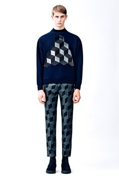 Christopher Kane Fall/Winter 2015 ------ London Collections: Men