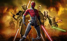 Star Wars: The Clone Wars, Cartoon Tv Series Wallpaper, Hd Image, Picture Star Wars Rebels, Star Wars Clone Wars, Star Wars Personajes, Star Wars Images, Widescreen Wallpaper, Desktop Wallpapers, Star Wars Wallpaper, Disney Plus, Star Wars Poster
