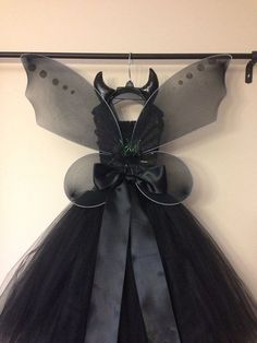 Maleficent costume inspired with wings and by LittledreamsbyMayra
