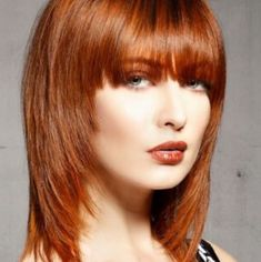 top 27 shoulder length hairstyles to try in 2017 - 28 images - top 27 shoulder length hairstyles to try in photos medium length hair cut style step by step black, top 27 shoulder length hairstyles to try in 100 bob hairstyles with bangs layered Bangs With Medium Hair, Medium Layered Hair, Medium Hair Cuts, Medium Hair Styles, Medium Shag Hairstyles, Haircuts For Fine Hair, Hairstyles With Bangs, Layered Haircuts, Shaggy Haircuts