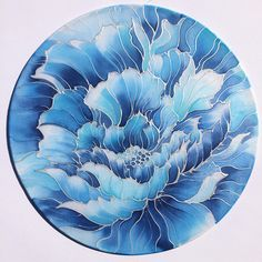 Silk sun-catcher! Swipe to see the videos! I'm preparing silk painting creations to sell at the market that takes place in my city this week-end! I'll share more of my silk creations soon :) #silkpainting #paintingonsilk #suncatcher #blue #flower #silk #frame #silkframe #painting #video #paintingprocess #art #artist #artistoninstagram #artistofinstagram