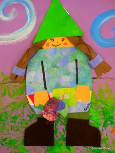 PAINTED PAPER: Little Garden Gnomes