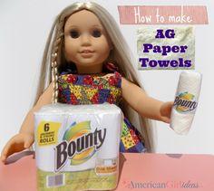 American Girl Paper Towels