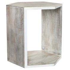 Nate Berkus Accent Table - White Washed