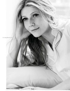"Gwyneth Paltrow: actress and founder of GOOP. I love her style, that she's unafraid to say what she thinks, and that she draws a line between her public and private life. QUOTE: ""I say what I think, and I stand behind what I say."""