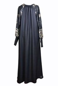 Just in time for the spring season, Abaya Central introduces its range of umbrella abayas. The contemporary gold and black pattern on the arms adds to the elegance, making this abaya essential for your wardrobe.  www.abaya-central.com