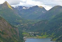 Geiranger and Geirangerfjorden, Norway (one of the most beautiful places in the world, just saying :D)