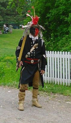 Mohawk Chief Re-enactment : ShadowBird: The Work of P.A. Lewis