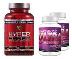 HYPER SHRED (90 Caps) & Carb Block Ultra (2 Bottles) - The Ultimate Weight Loss, Fat Burning Combo. DOUBLE Your Results! - For Sale Check more at http://shipperscentral.com/wp/product/hyper-shred-90-caps-carb-block-ultra-2-bottles-the-ultimate-weight-loss-fat-burning-combo-double-your-results-for-sale/