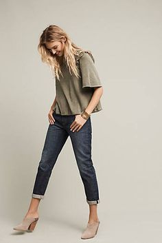 Levi's 501 CT High-Rise Straight Jeans