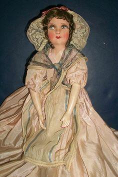 Lovely French Boudoir Doll, Original Costume