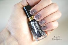 SOPHIE SANDSTORM - MAX FACTOR NAIL POLISH  #nailpolish #nail #manicure #beauty #beautyblog #blog #sophiesandstorm http://sophiesandstorm.blogspot.co.uk/2014/08/monday-manicure-grey-with-black-white.html