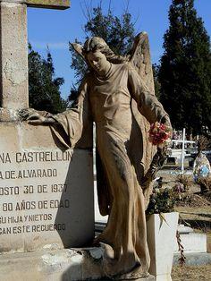 Angels of Durango, Mexico Cemetery
