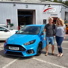Lovely couple Rob & Loren from Devon collecting their new 2017 Focus RS thanks for the business & all the best for the future.