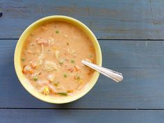 Maryland crab soup comes in two styles: creamy and brothy. This recipe combines the best of both worlds.