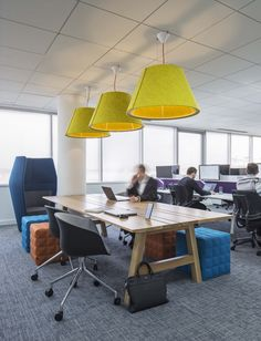 Mazars Office - Poole. Copyright: Workplace Creations Ltd. #moderninteriors #office #agileworking #collaboration #teamworking #itmatters