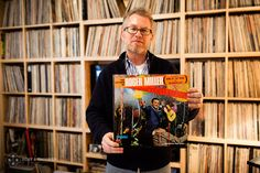 Interview with Matthew Glass on his huge and amazing record collection of jazz musc, novelties and unbelievable record covers