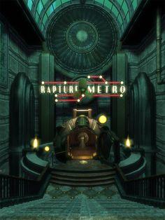 Rapture Metro // Courtesy of BioShock wiki's article on Farmer's Market #BioShock #Rapture
