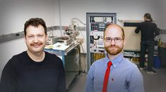 Physicists Igor Kaganovich and Charles Swanson