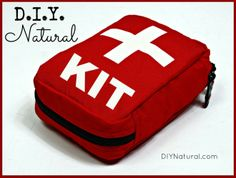 DIY First Aid Kit - A Homemade and Natural Solution : Creating a DIY first aid kit, full of natural healing goodies, is easier than you think.