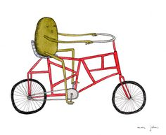 Marc Johns / Unusual bicycle