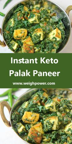 Making this easy & instant method for a long time, maybe almost 25 years. So thought why not share this with you all. Spinach is a storehouse of healthy nutrients. But they are sometimes time-consuming to make. But here comes an instant way of making this delicious Palak paneer. Enjoy!!! #keto #ketorecipes #instantketopalakpaneer