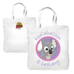 The Official PBS KIDS Shop | Wild Kratts Koalaballoon & You Tote Bag