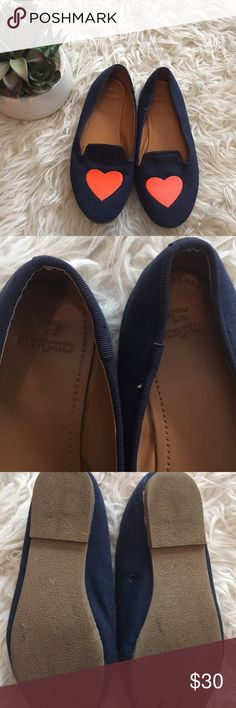 """Crewcuts little girl Loafers 3 Very cute and excellent condition. They are a canvas material. Measure 8 1/2"""" in length. Crewcuts Shoes Dress Shoes"""