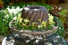 Gartenkuchen aus Schrott