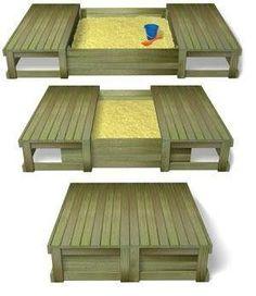DIY: Sliding Closure Sandbox by dorothea