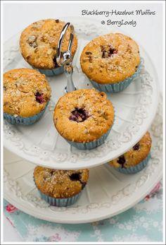 Berry Lovely: Blackberry-Haselnuss-Muffins
