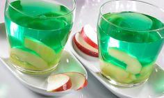 Apfel-Wein-Götterspeise -  Ein erfrischendes Dessert mit Apfel und Weißwein für jeden Anlass