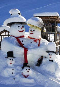 Snow family...