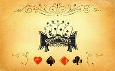 Poker and guns wallpaper