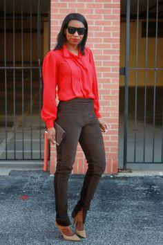 DIY Ribbed velvet ankle zip trousers – Beaute' J'adore