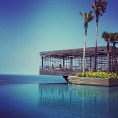 Snapshot from Alila Villas in Bali. Crossing my fingers I can go there some day...