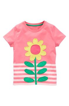 Mini Boden Appliqué Tee (Toddler) available at Nordstrom