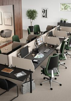 Desking systems | Desk systems | Nexus | Kinnarps. Check it out on Architonic