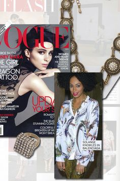 Strike the pose, there's nothing to it...Vogue!! lia sophia as featured in Vogue Mag!